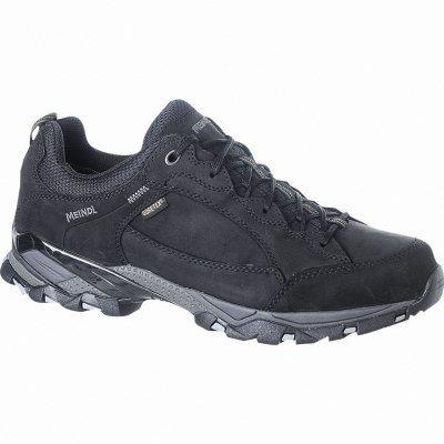 Meindl Toledo GTX Damen, Herren Leder Trekking Schuhe schwarz, Goretex Ausstattung, 4423113 schwarz