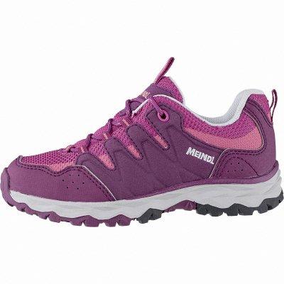 Meindl Topino Junior Mädchen Velour Mesh Trekking Schuhe fuchsia, Climafutter, Air-Active-Fußbett, 4442118 26 fuchsia Rosa