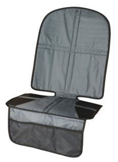 waschbare Universal Unterlage für Kindersitze mit Taschen, rutschsicher, Kindersitzunterlage, 100% Polyester