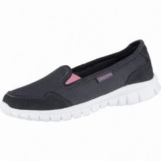Kappa Gomera modische Damen Mesh Synthetik Slippers black, weiches Kappa Fußbett, 4240112