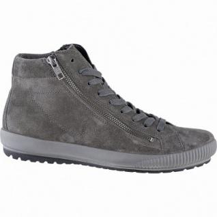 Legero softe Damen Leder Boots stone, 10 cm Schaft, Meshfutter, warmes Fußbett, Comfort Weite G, 1741130/4.5