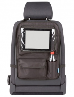 Kombination Universal Auto Rücksitz Tasche + abnehmbarer Tablet Halter, 51x38...