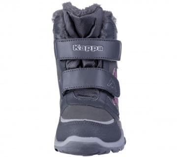 KAPPA Glitzy Tex Mädchen Winter Synthetik Boots grey, Warmfutter, wasserdicht... - Vorschau 4