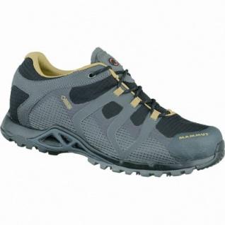 Mammut Comfort Low GTX Surround Men Herren Mesh Goretex Outdoor Schuhe schwarz, Gripex Sonar Comfort-Laufsohle, 4437147/7.0