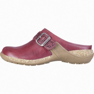 Romika Milla 122 modische Damen Leder Pantoletten hibiscus, Lederfutter, herausnehmbares Fußbett, 1442268/37