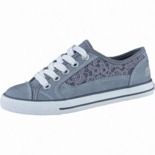 TOM TAILOR modische Mädchen Synthetik Sneakers blue, Macramé, TOM TAILOR Laufsohle, 3338133/40