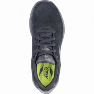 Skechers GO Walk 4 coole Herren Leder Sneakers black, GOga-Max-Fußbett, 4239150/39 - Vorschau 2