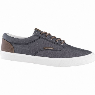 Jack&Jones JFW Vision Classic Chambray coole Herren Canvas Sneakers anthracit...