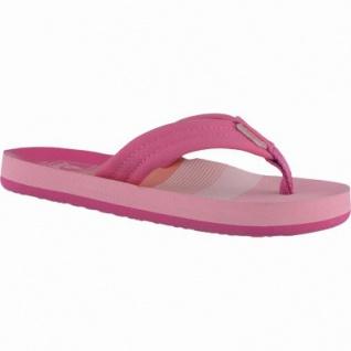 Reef Little Ahi coole Mädchen Synthetik Pantoletten pink, weiche Decksohle, 3538113/33-34