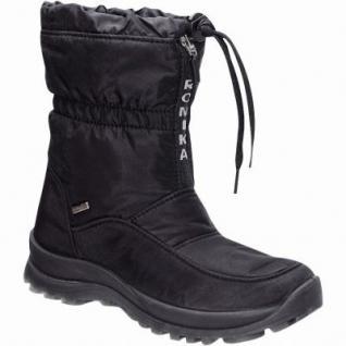 Romika Alaska 118 Top Dry Tex Damen Winter Nylon Boots schwarz, molliges Warmfutter, warmes Romika Fußbett, 4533114/37