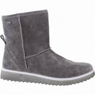Legero Damen Leder Winter Boots stone, 14 cm Schaft, Warmfutter, warmes Fußbett, Gore Tex, Comfort Weite G, 1741137