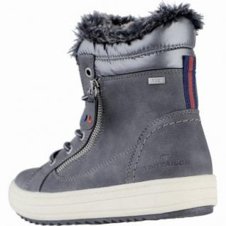 first rate 2eaea 198f1 TOM TAILOR warme Damen Synthetik Winter Boots grau, molliges Warmfutter,  Tex Ausstattung, 1639292/39