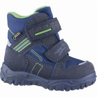 Superfit Jungen Winter Synthetik Tex Boots blau, mittlere Weite, molliges Warmfutter, warmes Fußbett, 3241108