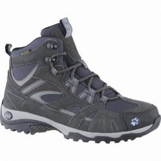 Jack Wolfskin Vojo Hike MID Texapore Woman Damen Leder Trekking Boots light sky, atmungsaktives Polyesterfutter, 4439142/8.0