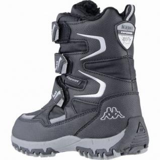 Kapppa Great Tex coole Jungen Synthetik Winter Tex Boots black silver, Warmfutter, Profil Laufsohle, 3739107/34 - Vorschau 2