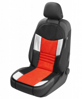 coole Universal Auto Polyester Mesh Sitzauflage Hunt rot, weiche 16 mm Schaum...