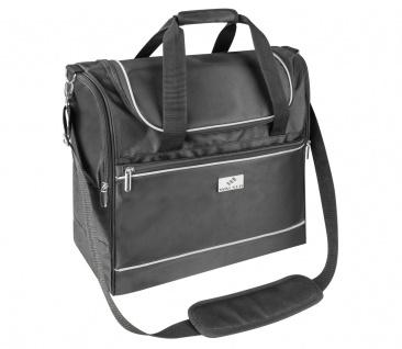 Carbags leichte Reisetaschen 35-55 L, schwarz, 3 Außenfächer, Laptopfach inne...