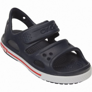 Crocs Crocband II Sandal PS Jungen Crocs Sandalen navy, verstellbarer Klettverschluss, 4338120/25-26 - Vorschau 2