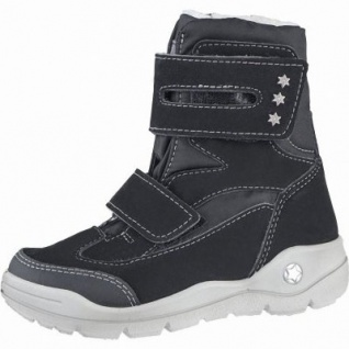 Ricosta Silke Mädchen Winter Thermo Tex Boots schwarz, Warmfutter, warmes Fußbett, 3739190/35