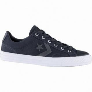 Converse Star Player coole Herren Canvas Sneakers black, Meshfutter, 2139114/41