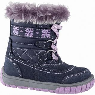 Lurchi Jalpy modischer Mädchen Winter Synthetik Tex Boots navy, Warmfutter, warmes Fußbett, 3241120/22