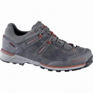 Mammut Alnasca Low GTX Men Herren Mesh Outdoor Schuhe graphite, Gore Tex Ausstattung, 4440169/7.0