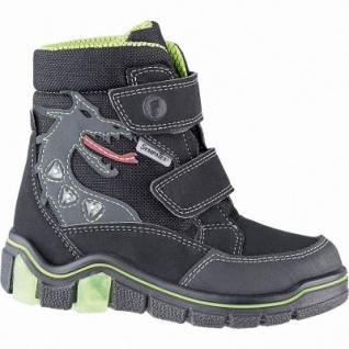 Ricosta Grisu Jungen Winter Tex Boots schwarz, breitere Passform, 11 cm Schaft, Warmfutter, warmes Fußbett, 3741262/33