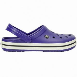 Crocs Crocband leichte Damen, Herren Crocs cerulean blue, Croslite Foam-Fußbett, Belüftungsöffnungen, 4340102/48-49