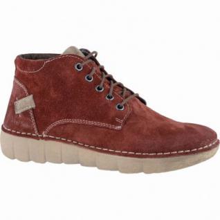 Josef Seibel Joice 13 modische Damen Leder Winter Boots carmin, Warmfutter, Fußbett, 1639302