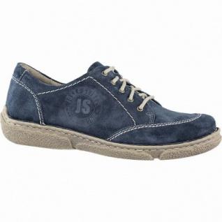 Josef Seibel Neele 02 Damen Leder Sneakers aqua, Josef Seibel Leder Fußbett, 1241110/37