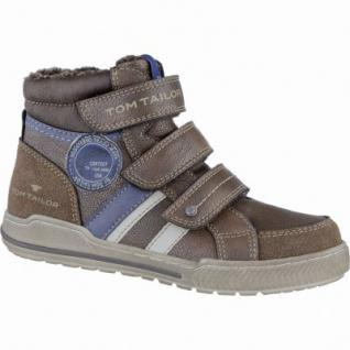 TOM TAILOR coole Jungen Synthetik Winter Sneakers rust, molliges Warmfutter, weiches Fußbett, 3739212/31
