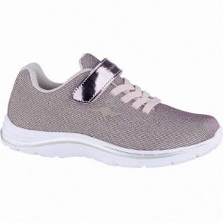 Kangaroos Kangashine EV coole Mädchen Glitzer Mesh Sneakers rose, Memory Foam-Fußbett, Meshfutter, 4240127