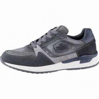 Dockers sportliche Herren Leder Imitat Sneakers grau, herausnehmbare Decksohle, 2142125/40