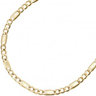 Halskette Kette 333 Gold Gelbgold 45 cm Goldkette Karabiner