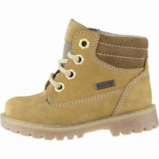 Richter Jungen Leder Sympatex Boots mustard, mittlere Weite, Warmfutter, warmes Fußbett, 3241123/28