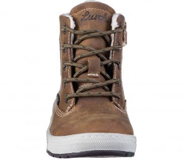 LURCHI Doug Jungen Winter Leder Boots tabacco, breitere Passform, Tex Ausstat... - Vorschau 4