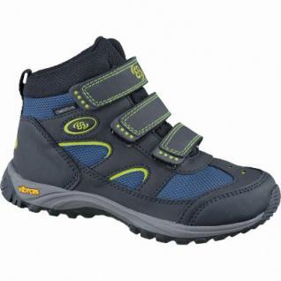 Brütting Snowfun V Winter Nylon Tex Boots schwarz, Warmfutter, Vibram-Laufsohle, 3737129/35