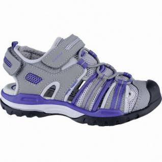 Geox coole Jungen Synthetik Sandalen grey, weiches Geox Fußbett, Antishock, 3540124