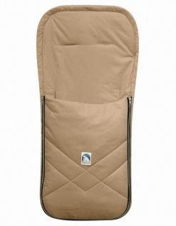 Baby Sommer Fußsack mit Baumwolle beige, waschbar, für Kinderwagen, Buggy, ca...