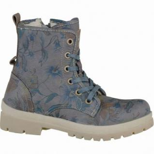 Mustang coole Mädchen Synthetik Winter Boots dunkelgrau, molliges Warmfutter, warme Decksohle, 3737122