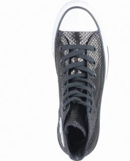 Converse Chuck Taylor All Star-Metallic Snake Leather-HI coole Damen Canvas Metallic Sneakers black, 4238195/36.5 - Vorschau 2