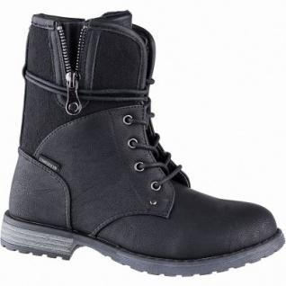 Lico Malin Mädchen Synthetik Tex Boots schwarz, 15 cm Schaft, Warmfutter, warme Textileinlegesohle, 3741106/38