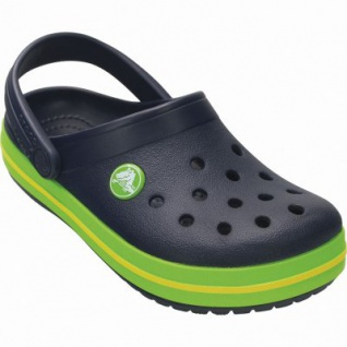 Crocs Crocband Kids Jungen Crocs navy, verstellbarer Fersenriemen, 4338123/34-35 - Vorschau 2