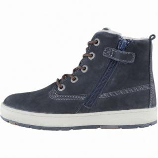 Lurchi Doug Jungen Winter Leder Tex Boots atlantic, Warmfutter, Fußbett, breitere Passform, 3739120/37 - Vorschau 2