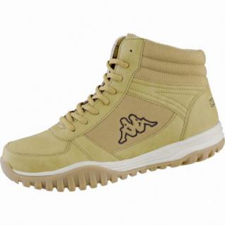 Kappa Brasker Mid modische Herren Nylon Synthetik Boots beige, Kappa Fußbett, 2539102