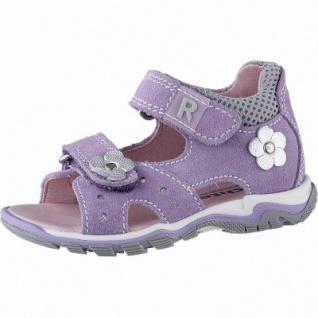 Richter Mädchen Leder Lauflern Sandalen violet, mittlere Weite, weiches Fußbett, 3142129/20