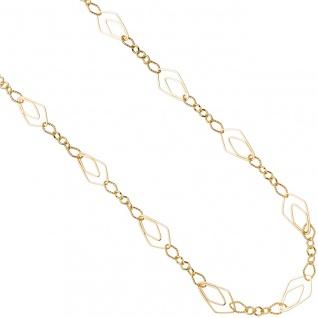 Halskette Kette 925 Sterling Silber gold vergoldet 80 cm Karabiner