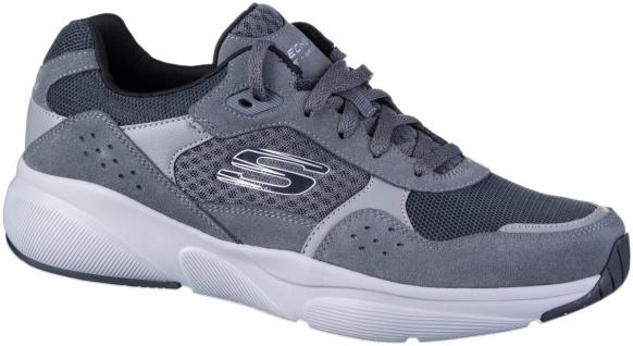 SKECHERS Meridian Herren Velourleder Sneakers charcoal, Skechers Air Cooled M...
