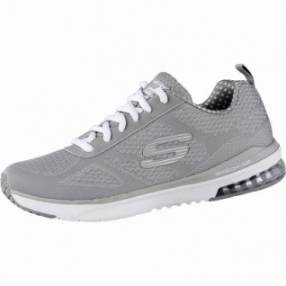 Skechers Infinity coole Damen Mesh Sneakers taupe, Skechers Air-Cooled-Memory-Foam-Fußbett, 4240198/36