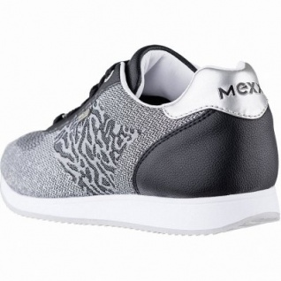 MEXX coole Damen Strick Sneakers black, herausnehmbares Fußbett, 1242175/36 - Vorschau 2